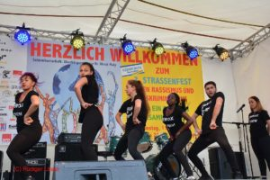 Vom Jugendtreff ANNA die Ferox Dance Company