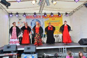 Flamenco Show des Centro Español Erwachsenengruppe
