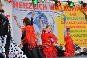 Flamenco Show des Centro Español Kindergruppe